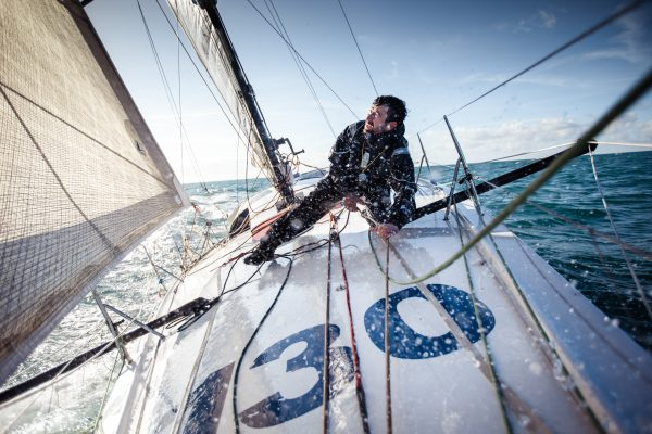 Phil Sharp attempts to beat English Channel crossing record