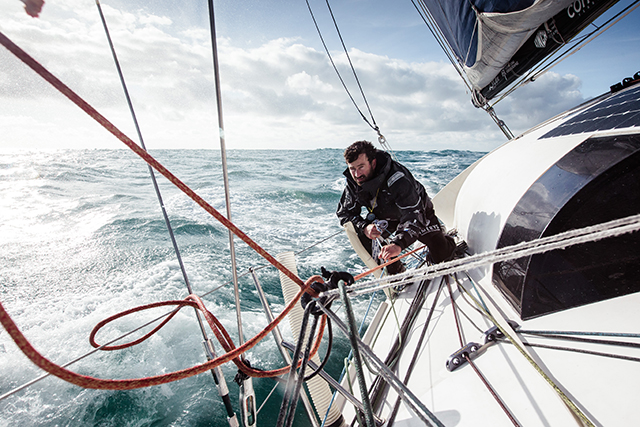 Phil Sharp attempts to break the English Channel record