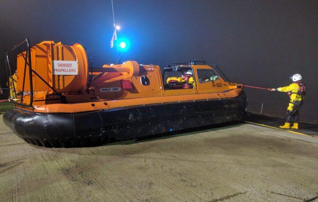 Hoylake RNLI hovercraft