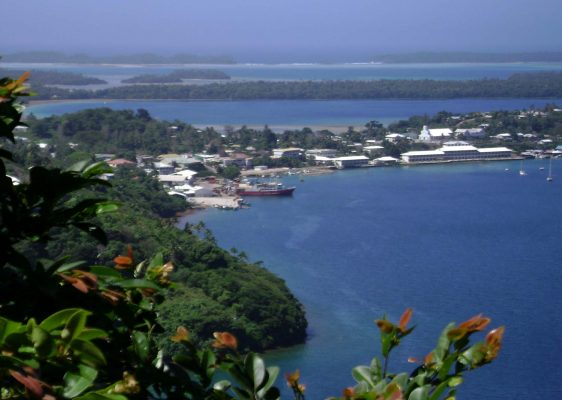 Port of Refuge from Mount Talau, Vavaʻu, Tonga. Credit: Tauʻolunga/Wikimedia Commons