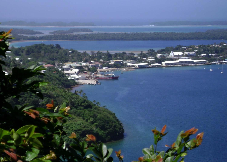 Port of Refuge from Mount Talau, Vavaʻu, Tonga. Credit: Tauʻolunga/Wikimedia Commons