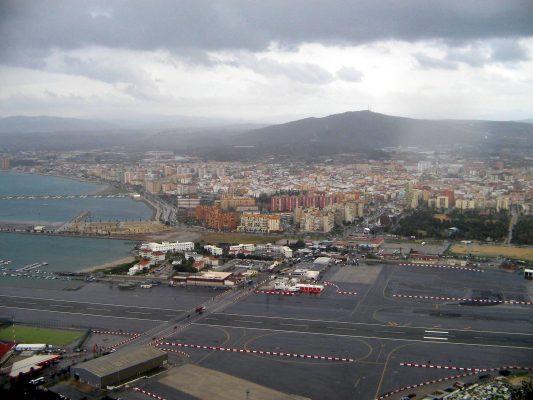 Spanish boarder town of La Linea