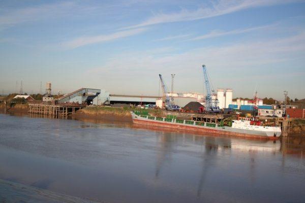 Gunness Wharf on the River Trent
