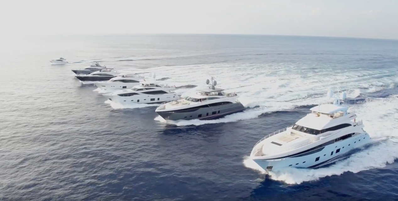 Video Princess Yachts 2017 Boat Show Line Up