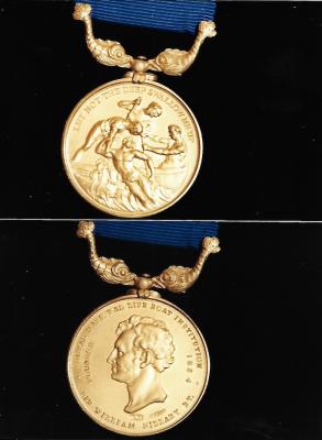 Penlee Lifeboat Trevelyan Richards' Gold medal