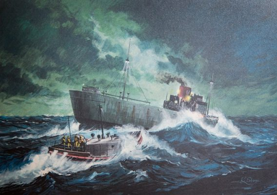 Painting of Nafsiporos rescue