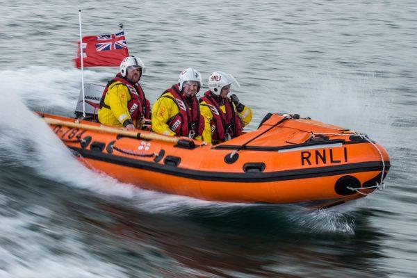 Shoreham RNLI inshore lifeboat