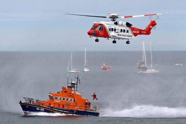Five rescued from fishing trawler off Dublin coast