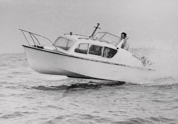 the first Fairline yacht ever built