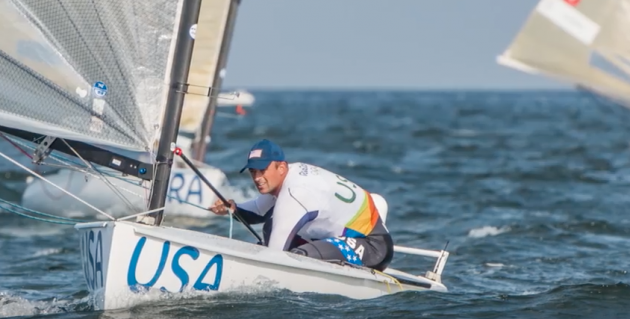 Olympic Bronze medallist in the Finn Class Caleb Paine US Sailing