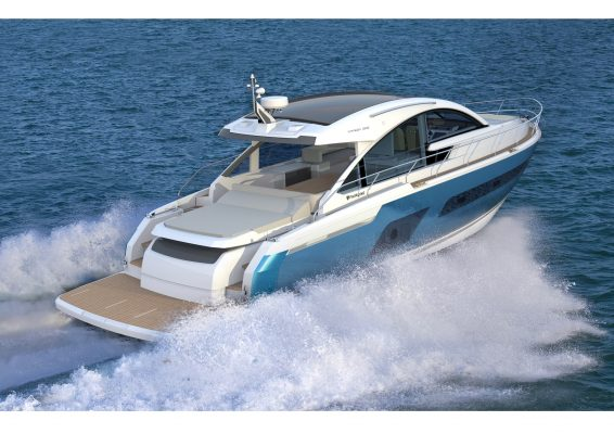 Fairline motor yacht
