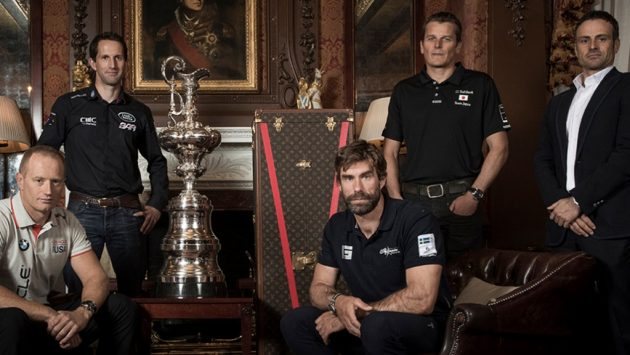 Teams that have signed the new framework for the next two America's Cup competitions
