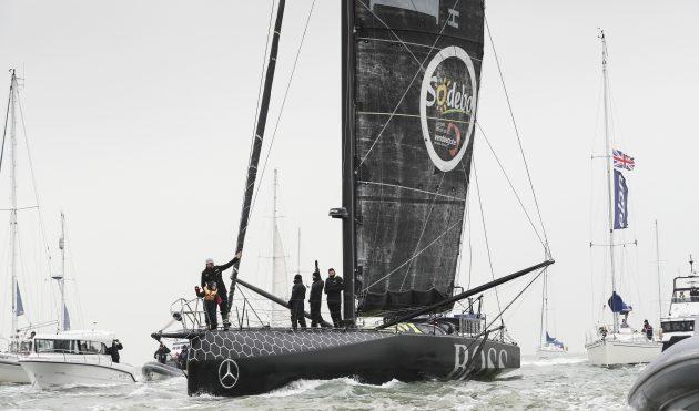 British skipper Alex Thomson on Hugo Boss