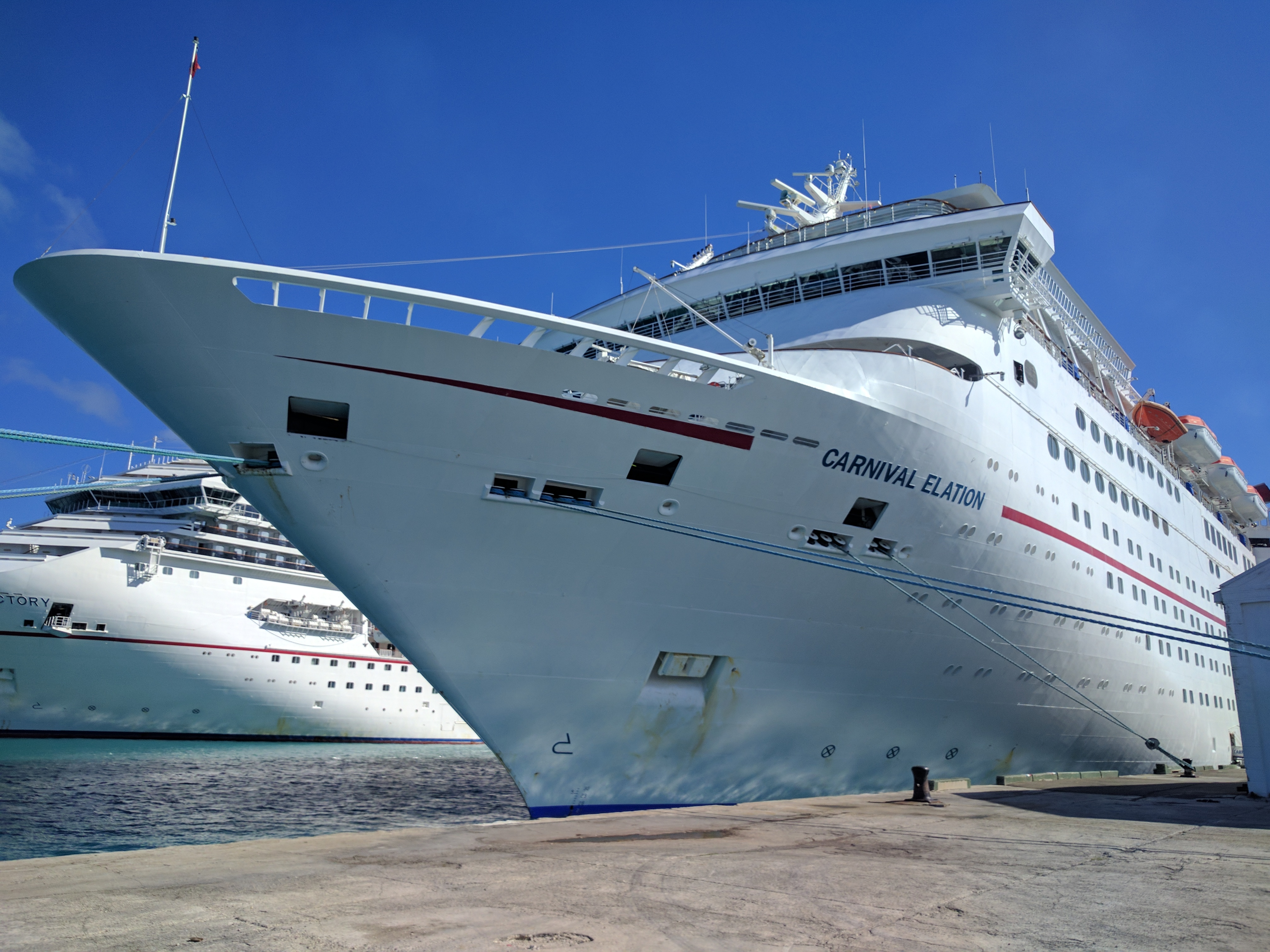 Search For Man Missing From Carnival Elation Cruise Ship Called Off  YBW