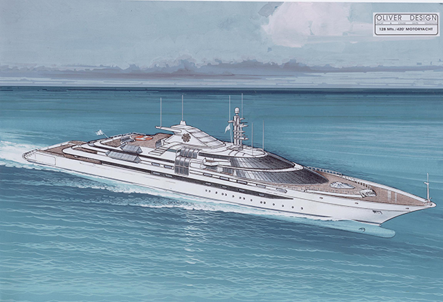 Pictures The Luxury Yacht Donald Trump Almost Owned Ybw