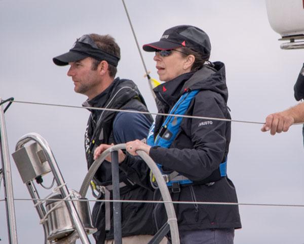 Princess Anne sailing