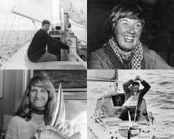 Chay Blyth, Ann Davison, Naomi James and Robert Manry - sailors who put to sea without the relevant experience