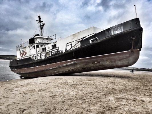 'Ghost ship' has been identified as The Appleby