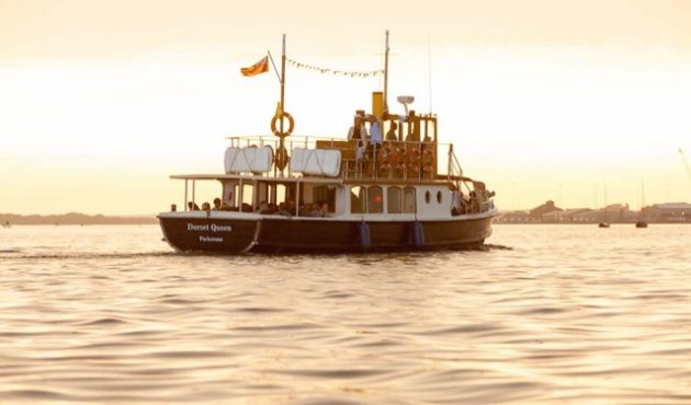A vintage motor yacht Dorset Queen will be offering gin cruises from April 2017