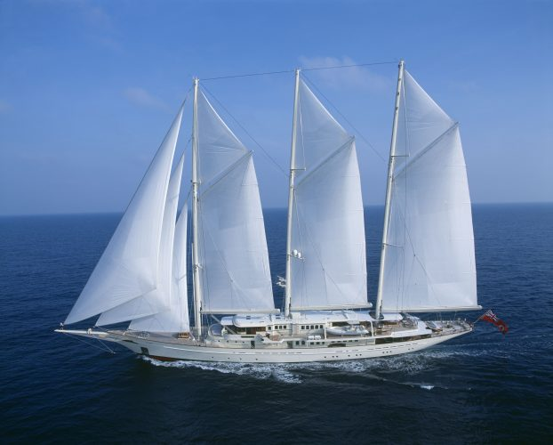 Pictures: One of the largest sailing yachts in the world