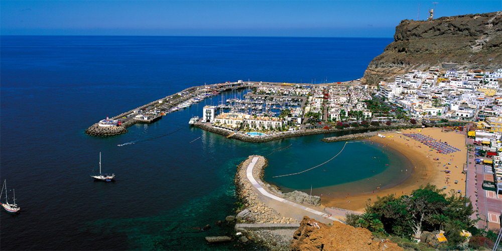 view of marina in gran canaria