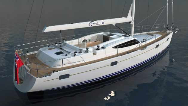 The First Kraken 50 Blue Water Cruiser To Be Launched In January Ybw