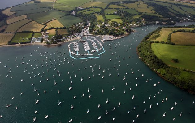 The proposal of the marina extension at Mylor Yacht Harbour