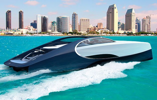Style And Speed On Water Luxury Yachts Designed By Car Manufacturers