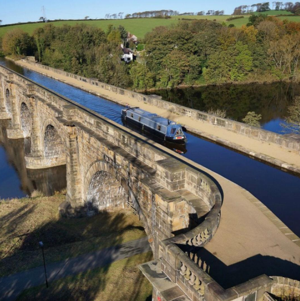 07 03 2017 Lune Aqueduct On The Lancaster Canal Ybw