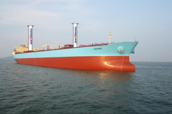 Flettner rotor sails