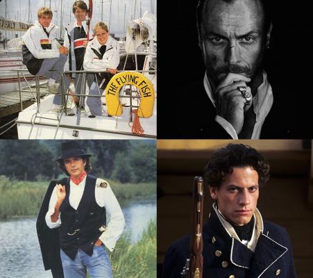 Sailing TV programmes - Howards' Way, Black Sails, The River, Hornblower