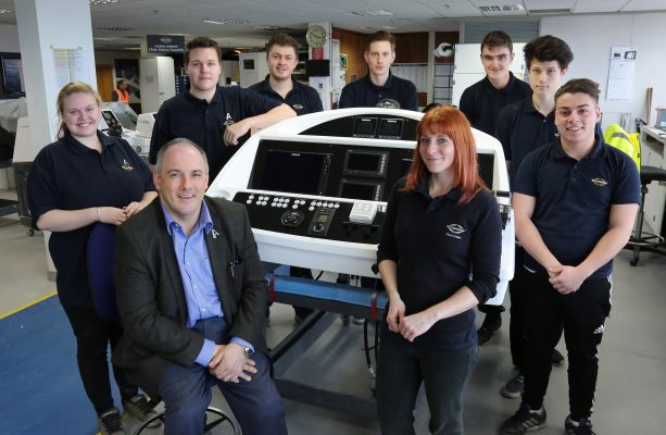 Sunseeker has recruited new apprentices in Poole