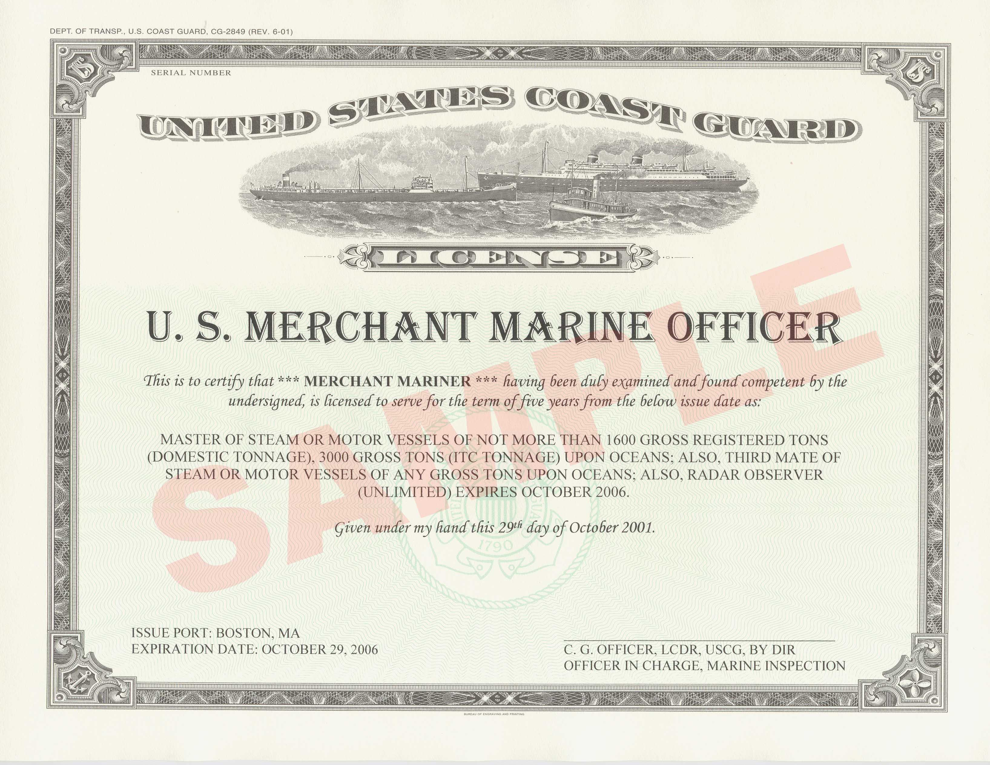 uscg memo template - us cruise ship captain convicted of using a stolen