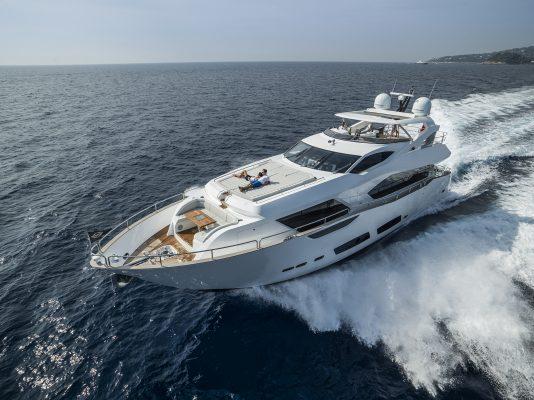 A luxury motor yacht by Sunseeker International