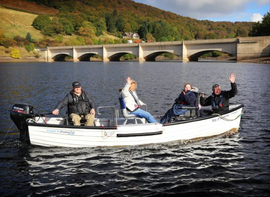 First wheelchair accessible fishing boat launched at ...