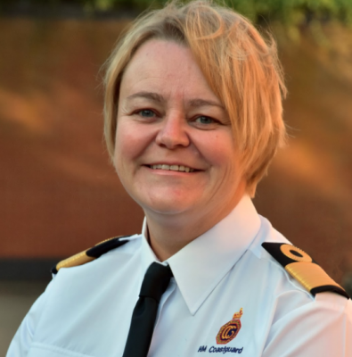 The most powerful woman in the UK Coastguard - Julie-Anne Wood