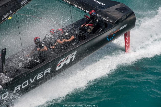 America's Cup: First look at New York Yacht Club's test