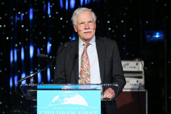America's Cup winner and CNN founder Ted Turner