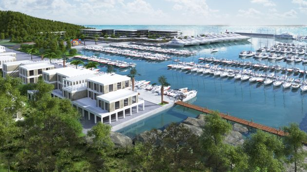 Next stop: Albania! First mega yacht harbour in the Adriatic country