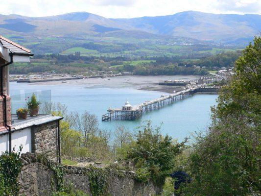 The pier at Bangor, north Wales