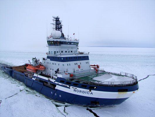 The Finnish icebreaker MSV Nordica