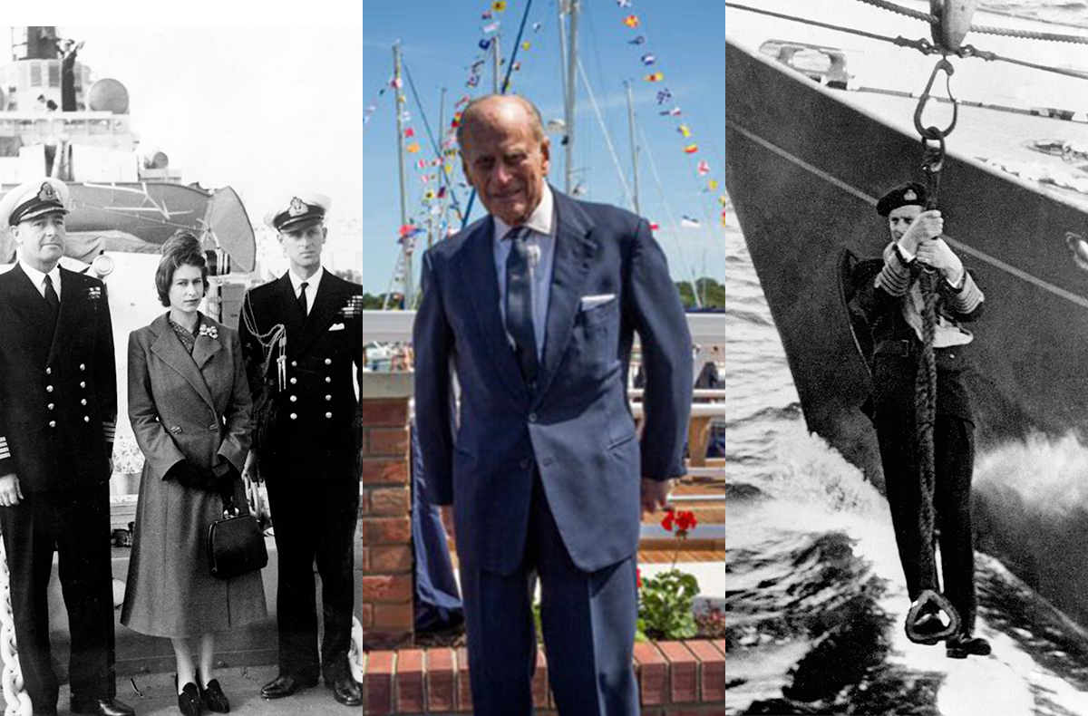Prince Philip in Pictures: The best moments of his maritime life - YBW