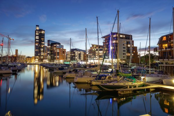 The hotel that looks like a ship: Southampton Harbour Hotel