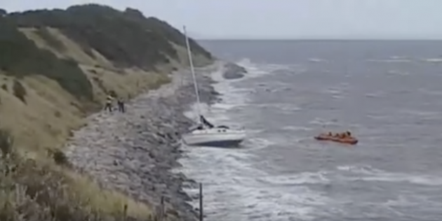 Wirral coastguard and the local RNLI go to the aid of a stricken yacht