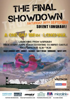 poster of event on the Solent