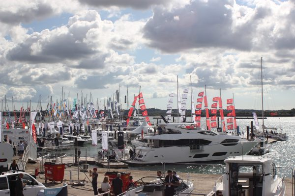 boats at the southampton boat show 2017