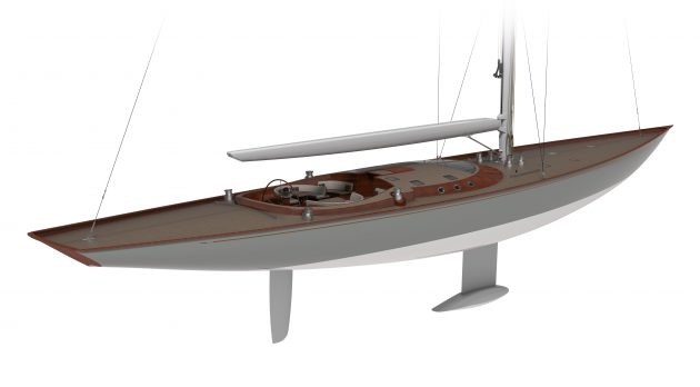 Renders of a yacht