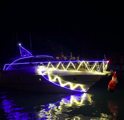 Christmas Boat Decorations.Pictures Boats At Christmas Ybw