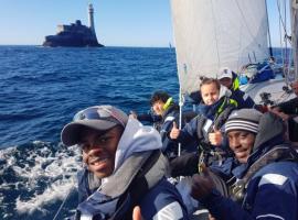 Montel Fagan-Jordan sailing