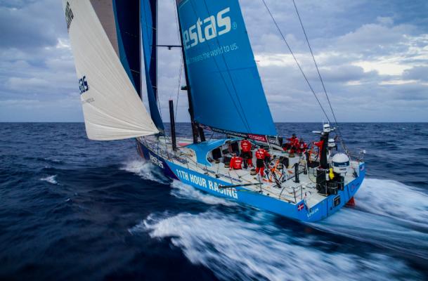 Vestas Th Hour Racing Racing In Hong Kong During Volvo Ocean Race